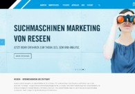 A great web design by reseen GmbH, Stuttgart, Germany: