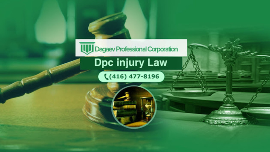 A great web design by DPC Injury Law, Toronto, Canada:
