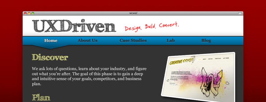A great web design by UXDriven, Houston, TX: