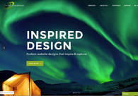 A great web design by On The Brink Designs, Seattle, WA: