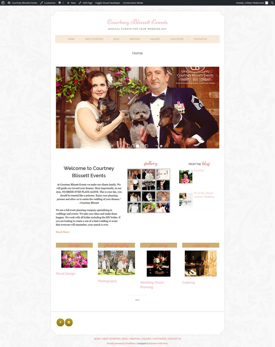 A great web design by Keystone Web Worx, East Stroudsburg, PA: