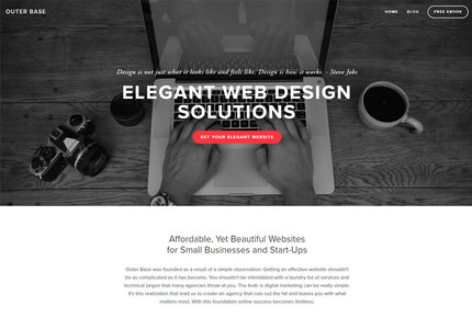 A great web design by Outer Base, Pittsburgh, PA: Responsive Website, Marketing Website , Service