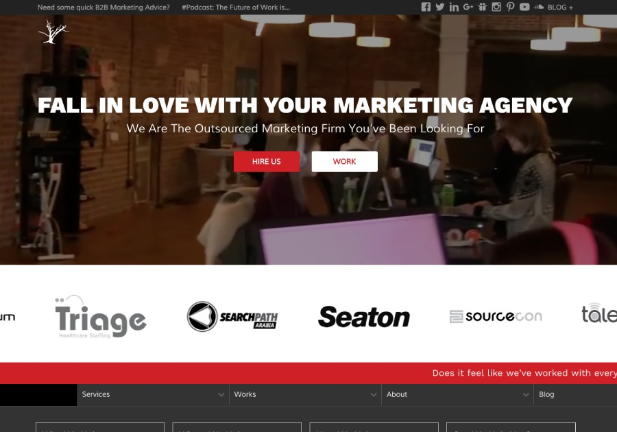A great web design by Red Branch Media, Omaha, NE: