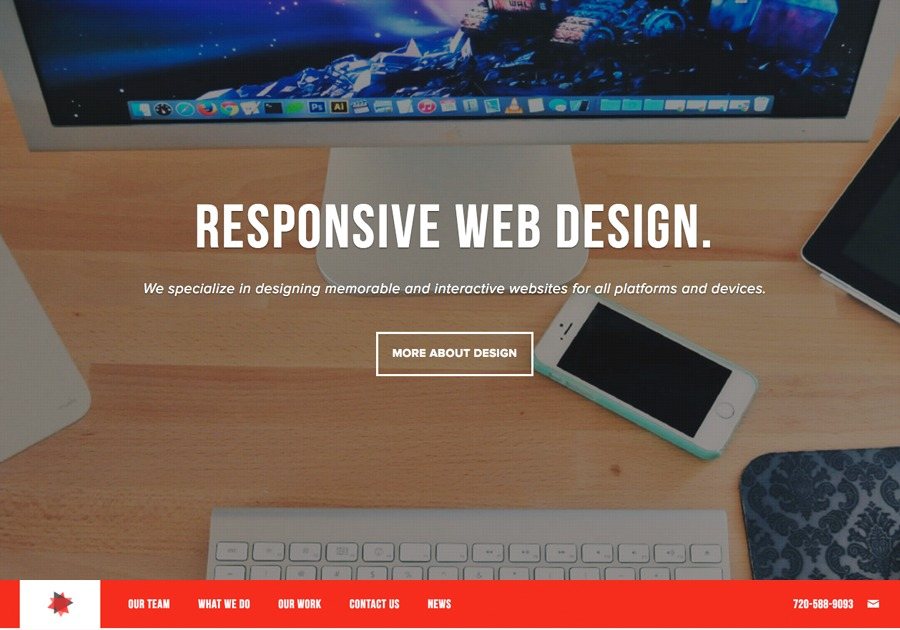 A great web design by Entropi Inc, Denver, CO: Responsive Website, Marketing Website , Internet , Wordpress