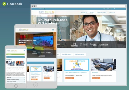 A great web design by Clearpeak, Boston, MA: Responsive Website, Social/Community , Healthcare, ExpressionEngine