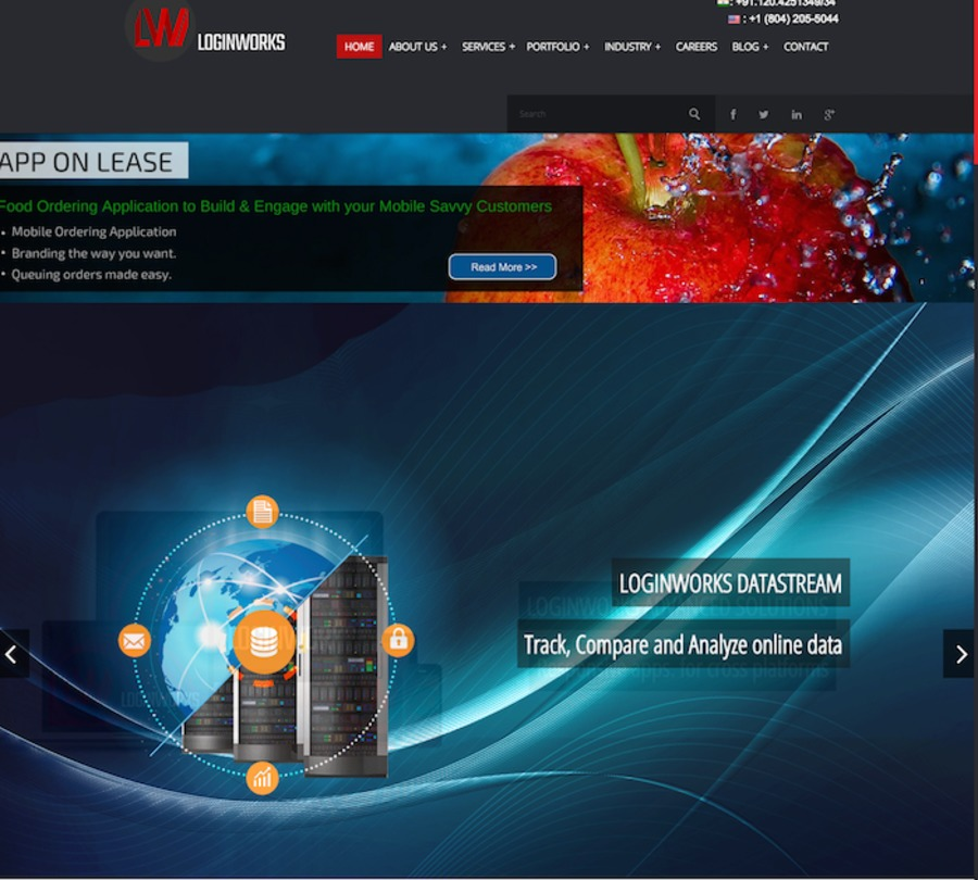 A great web design by Loginworks Softwares, Virginia, IL: