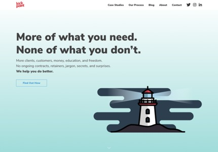 A great web design by Kick Point, Edmonton, Canada: Responsive Website, Marketing Website , Marketing , Wordpress