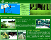 A great web design by Afnik Web Technologies, Chennai, India: