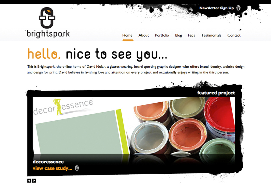 A great web design by Brightspark, London, United Kingdom: