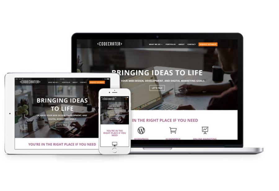 A great web design by CODECRATER, Marlborough, MA: