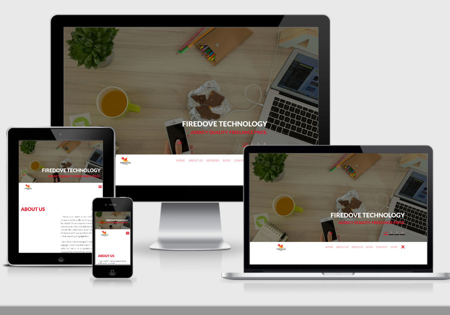 A great web design by Firedove Technology, Spokane, WA:
