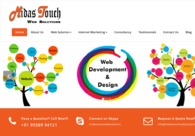 A great web design by Midas Touch Web Solutions, Ahmedabad, India: Responsive Website, Marketing Website , Service , PHP