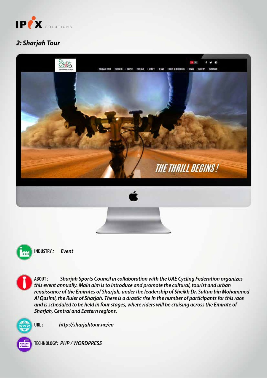 A great web design by IPIX Solutions Pvt Ltd, Calicut, India: