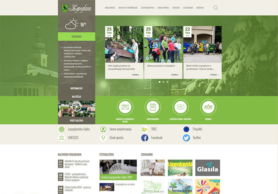 A great web design by Emicca web solutions, Lepoglava, Croatia: