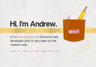 A great web design by Andrew Abogado, Davao City, Philippines:
