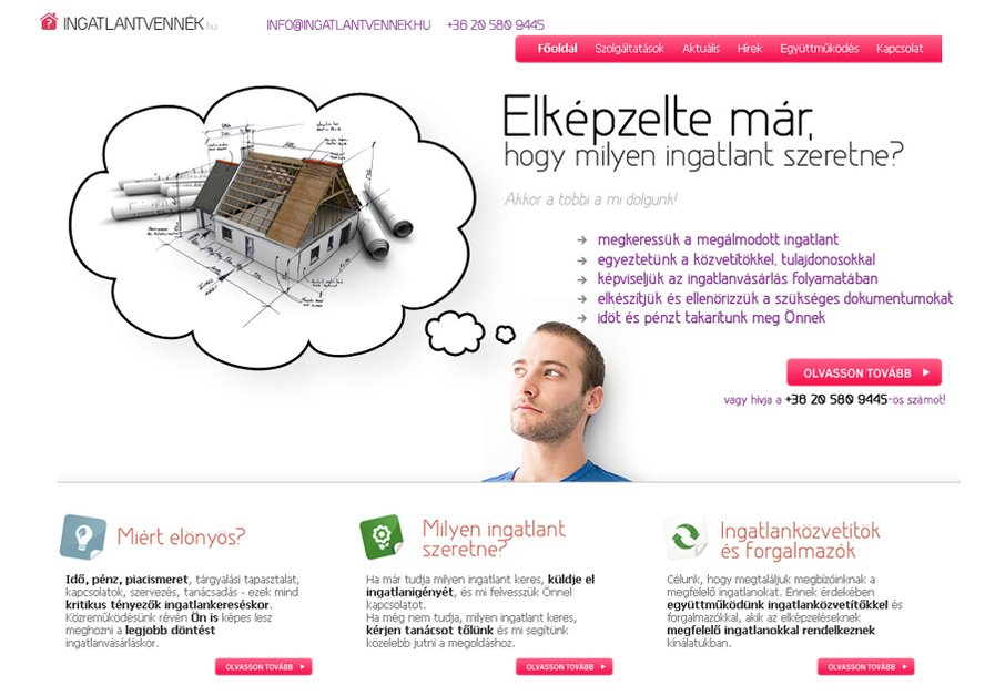 A great web design by Igor Corner Internet Kft., Budapest, Hungary: