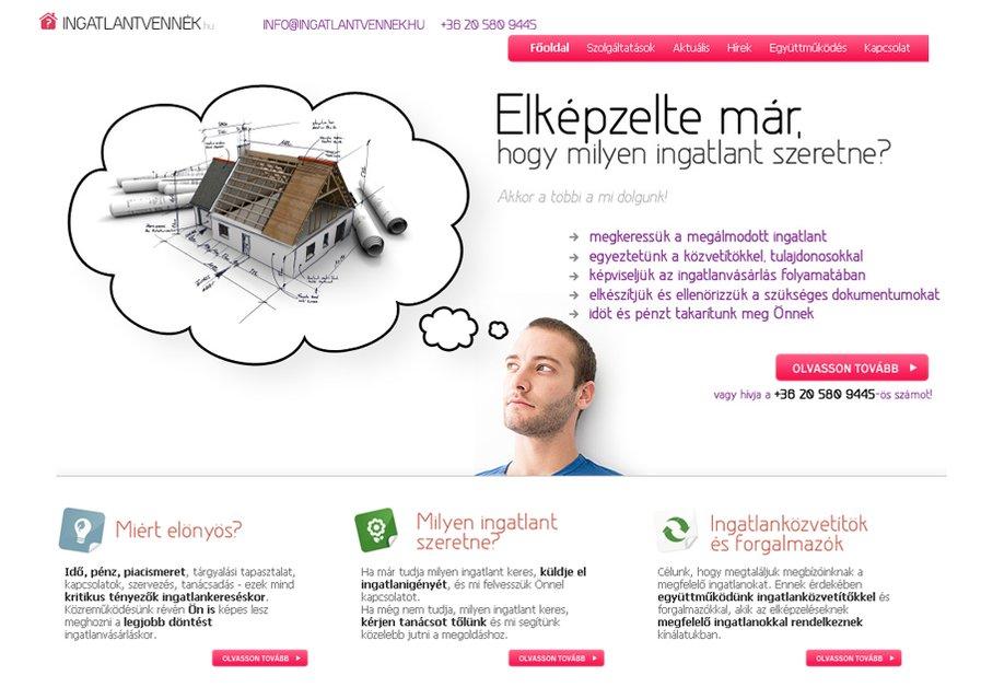 A great web design by Igor Corner Internet Kft., Budapest, Hungary: