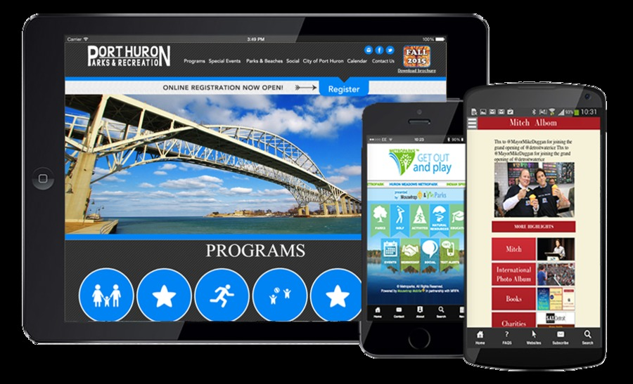 A great web design by Mousetrap Mobile, Royal Oak, MI: