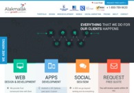 A great web design by Alakmalak Technologies, Ahmedabad, India: Website, Other, Software , PHP