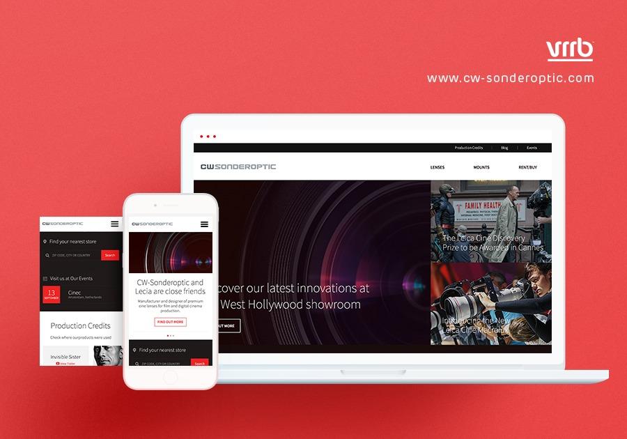 A great web design by Vrrb Interactive, Los Angeles, CA: Responsive Website, Marketing Website , Film & Video , Wordpress