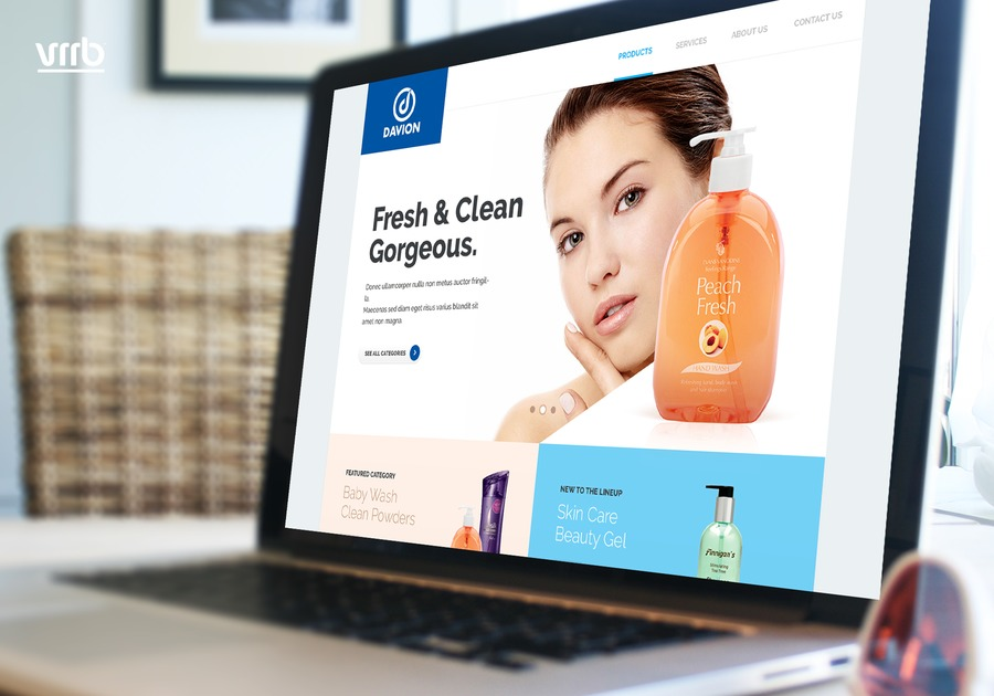 A great web design by Vrrb Interactive, Los Angeles, CA: Responsive Website, E-Commerce , Health & Beauty , Wordpress