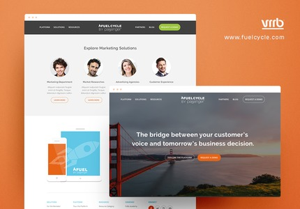 A great web design by Vrrb Interactive, San Francisco, CA: Responsive Website, Marketing Website , Marketing , Wordpress