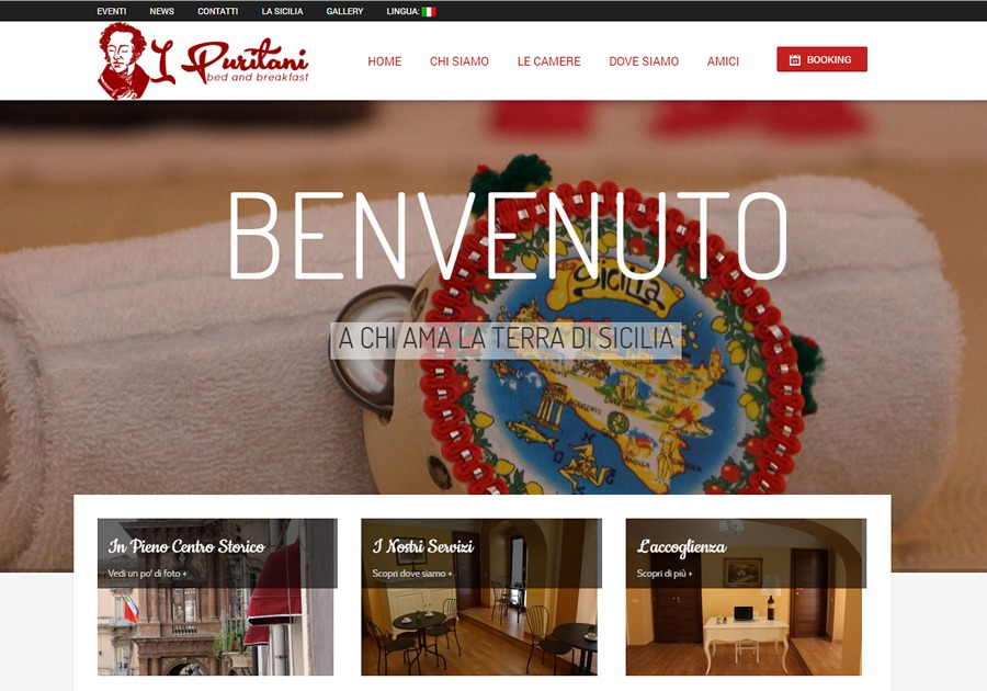 A great web design by rainbowweb, Catania, Italy:
