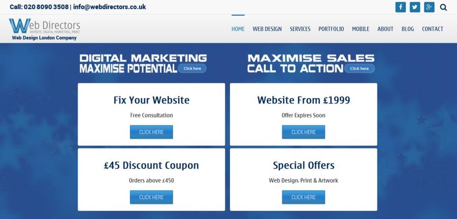 A great web design by Web Directors, London, United Kingdom: