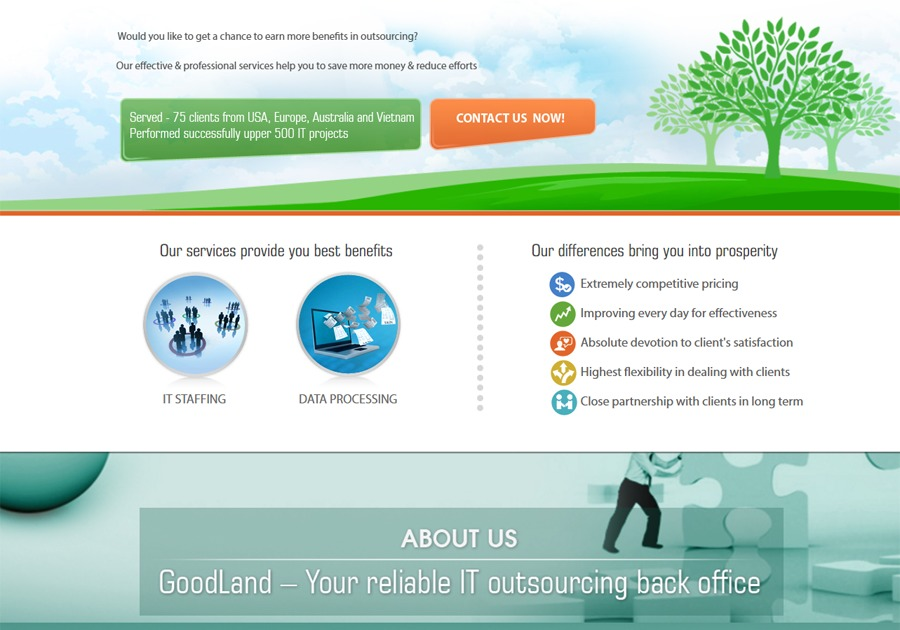 A great web design by GoodLand Informatics, Texas City, TX: