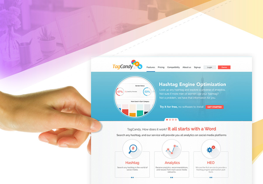 A great web design by Phoenix Media Lab, Rajkot, India: