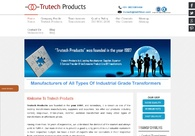 A great web design by Trutech Products, Pune, India: Website, Portfolio , Manufacturing