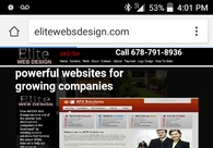 A great web design by Elite Web Design, Atlanta, GA: