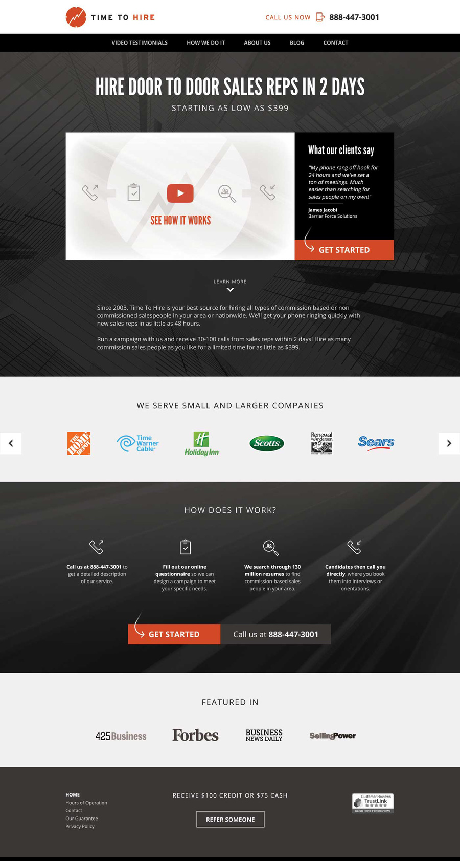 A great web design by Followbright Web Agency, Denver, CO: Responsive Website, Marketing Website , Service , Wordpress