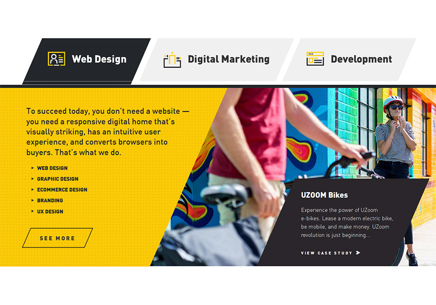 A great web design by SMDesign Studio, Miami, FL: