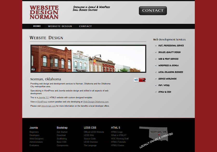 A great web design by Website Design Norman, Norman, OK: