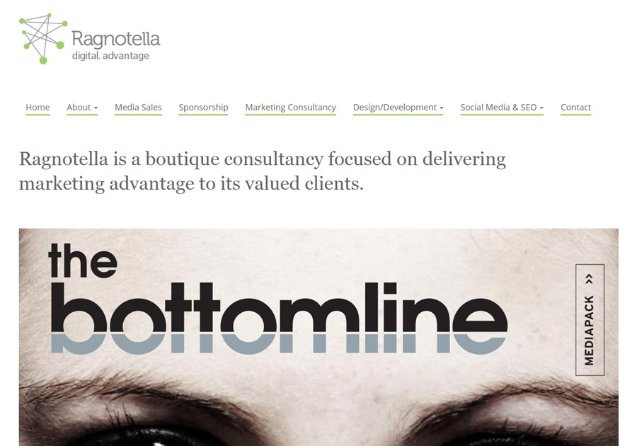 A great web design by Ragnotella, London, United Kingdom:
