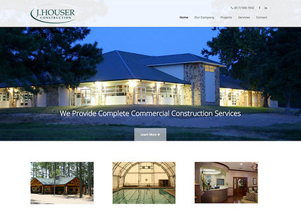 A great web design by 422 Studios, Dallas, TX: Responsive Website, Marketing Website , Construction , Wordpress