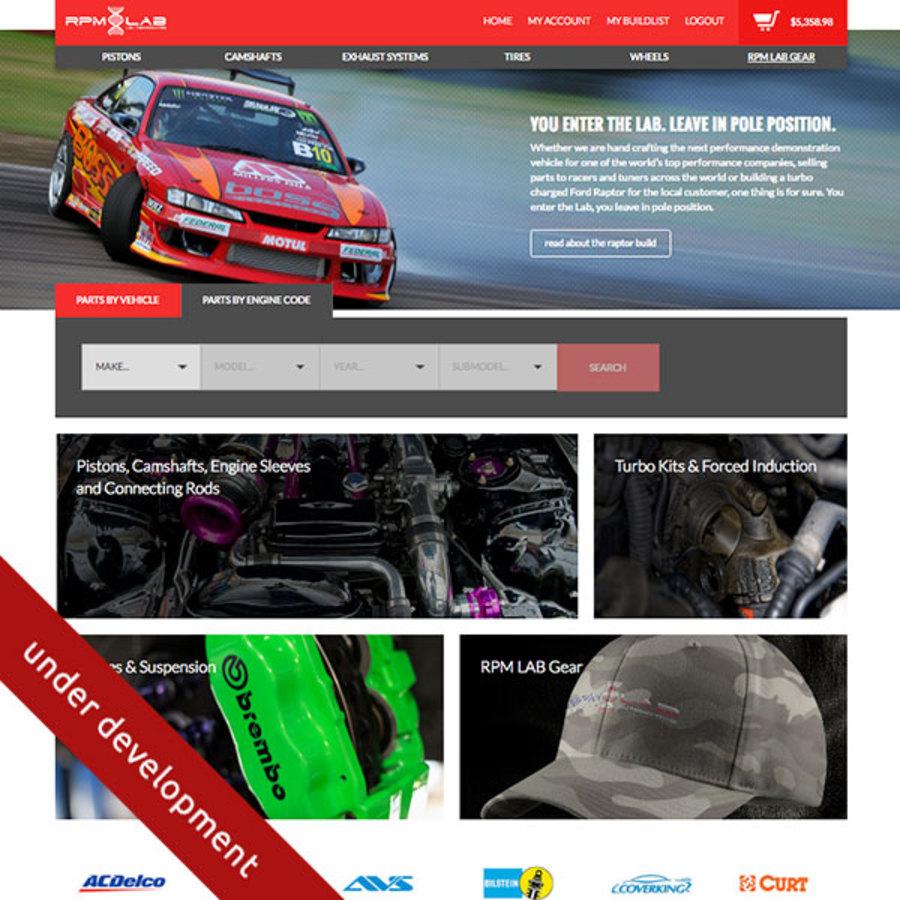 A great web design by 422 Studios, Dallas, TX: Responsive Website, E-Commerce , Automotive , PHP