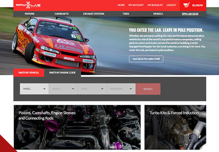 A great web design by 422 Studios, Dallas, TX: Responsive Website, E-Commerce , Automotive , PHP
