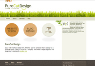 A great web design by PureCutDesign, Novi Sad, Serbia:
