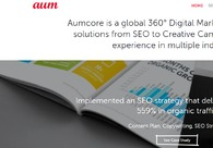 A great web design by Aumcore, Noida, India: