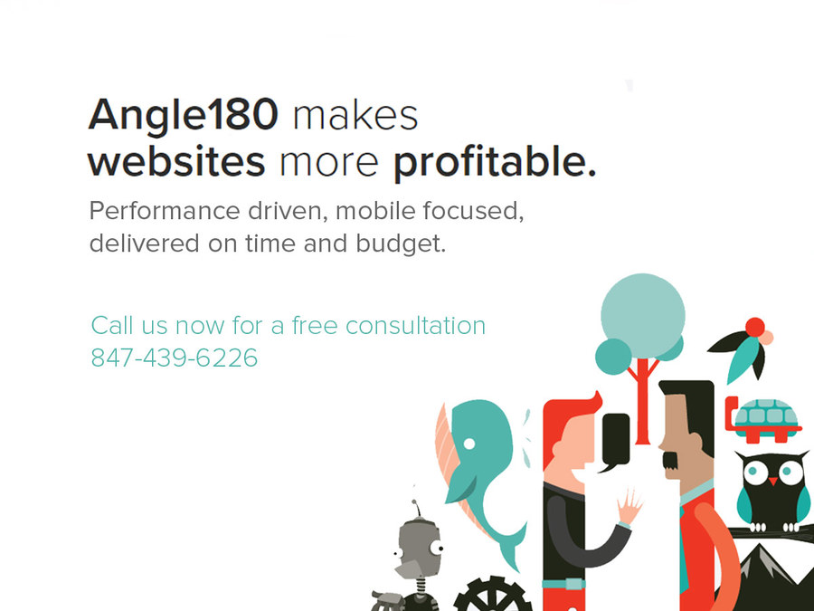 A great web design by Angle180 , Chicago, IL: Responsive Website, Marketing Website , Software , PHP