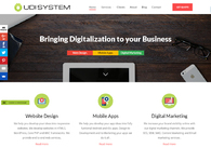 A great web design by UDISYSTEM, Bangalore, India: