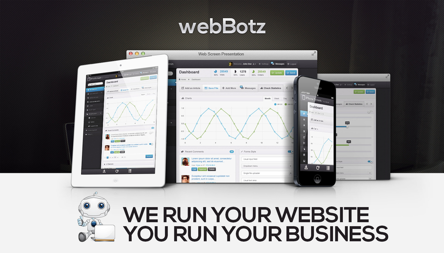 A great web design by webBotz, Montreal, Canada: