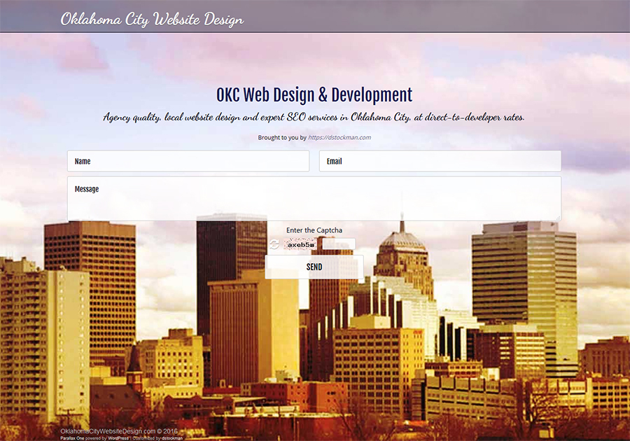 A great web design by Oklahoma City Website Design, Oklahoma City, OK: