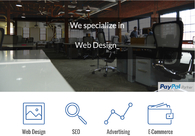 A great web design by Venture Focused Consulting, Washington D.c., DC: Responsive Website, Portfolio , Internet , Static HTML