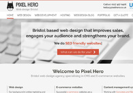 A great web design by Pixel Hero, Bristol, United Kingdom: