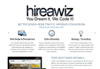 A great web design by HireAWiz Web Design, Glendale, AZ: