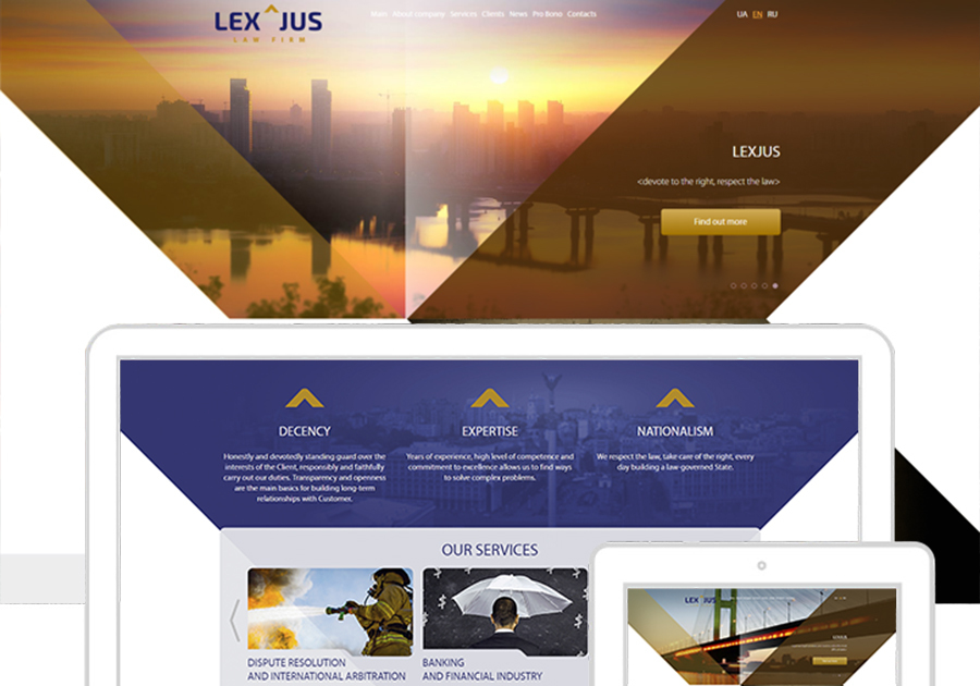 A great web design by DOMYCODE, Kyiv, Ukraine: