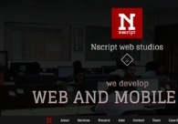 A great web design by Nscript, Chennai, India: